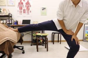 【症例報告】右股関節の内側が痛いです 内転筋 肉離れ 高3 サッカー (治療2日目)